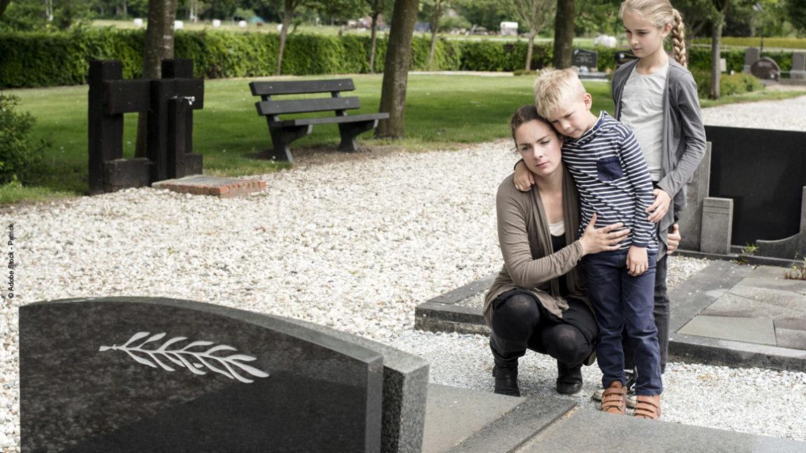 Den Tod mit Kindern verarbeiten